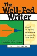 cover of the Well-Fed Writer book by Peter Bowerman