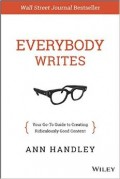 Cover of Everybody Writes by Ann Handley